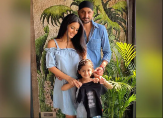 Harbhajan Singh with his wife Geeta Basra were blessed with baby boy on June 10, 2021.