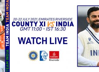 India vs County Championship XI Live