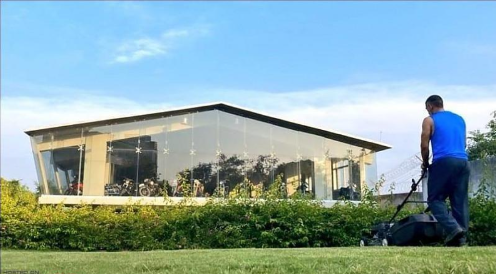 MS Dhoni builds a separate building for his bike collections