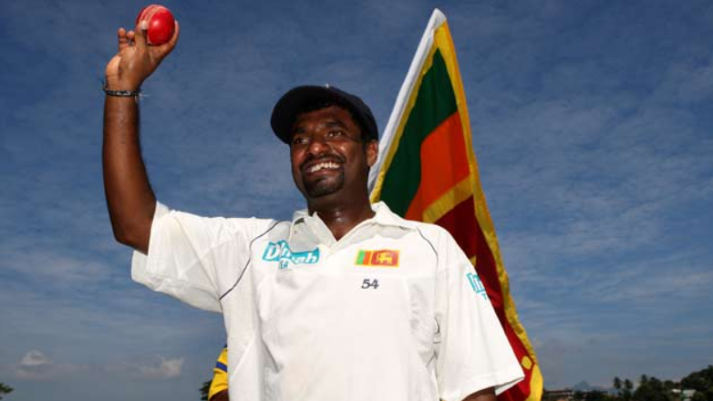 Muttiah Muralitharan holds the top position in the highest test wicket takers list