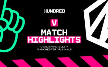 Oval Invincibles vs Manchester Originals Highlights
