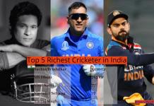 Richest Cricketer in India