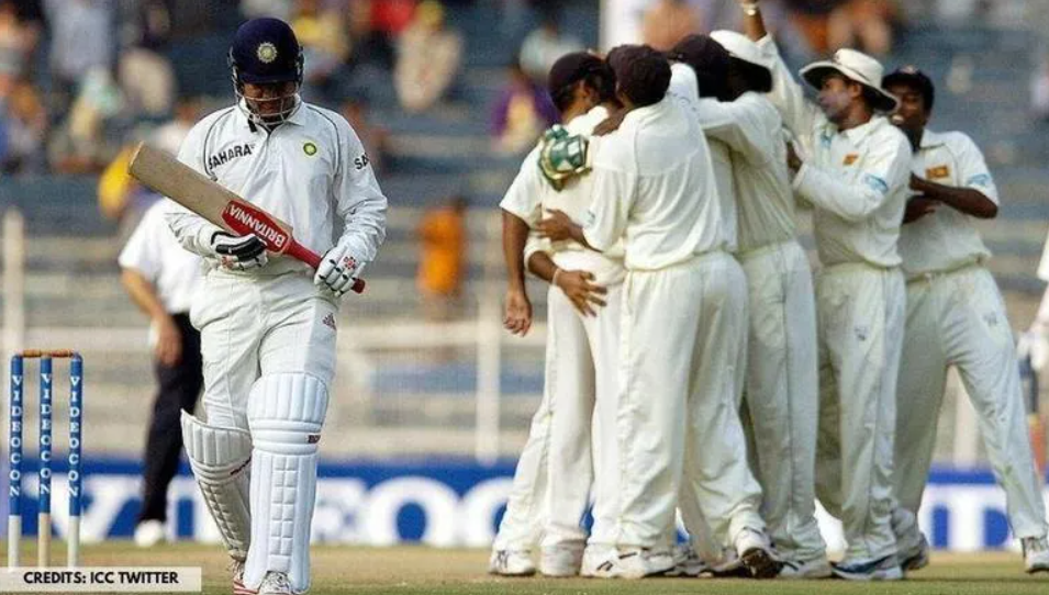 Former Indian cricketer Sehwag becomes the first person to dismiss via DRS