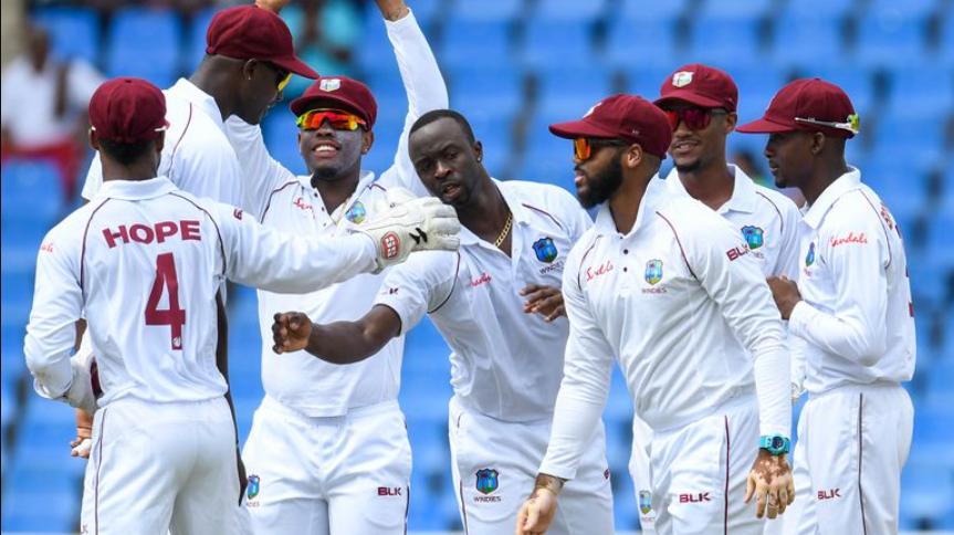 West Indies test cricketers