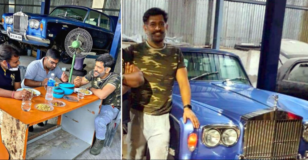 MS Dhoni owns the rare Rolls Royce Silver Shadow