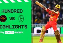 Birmingham Phoenix vs Oval Invincibles Highlights