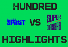 London Spirit vs Northern Superchargers Highlights