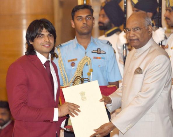 Neeraj Chopra Arjuna Award