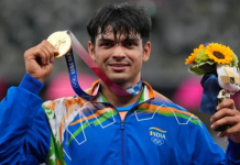Neeraj Chopra wins Gold medal at Tokyo Olympic 2021