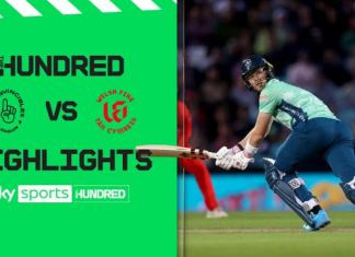 Oval Invincibles vs Welsh Fire Highlights