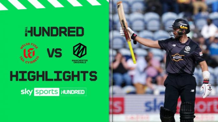 Welsh Fire vs Manchester Originals Highlights