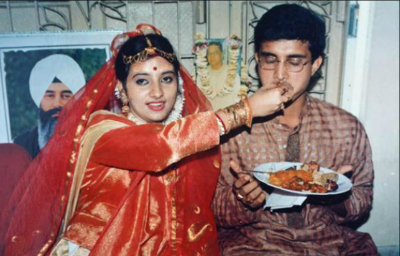 Ganguly and Dona Roy ran away to marry