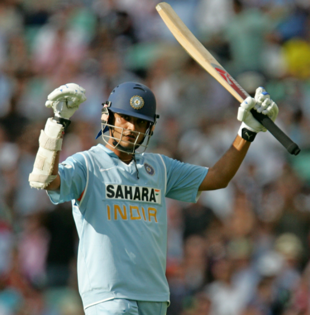 Ganguly in 2007 World Cup