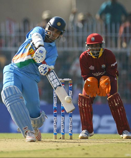Ganguly made his ODI debut in January 1992 against West Indies