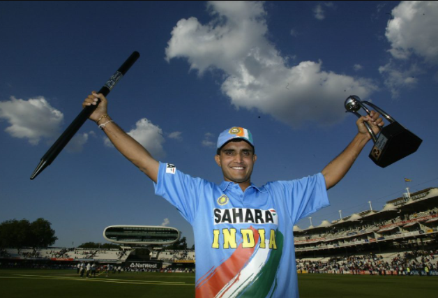 Ganguly becomes one of the most successful captains of India