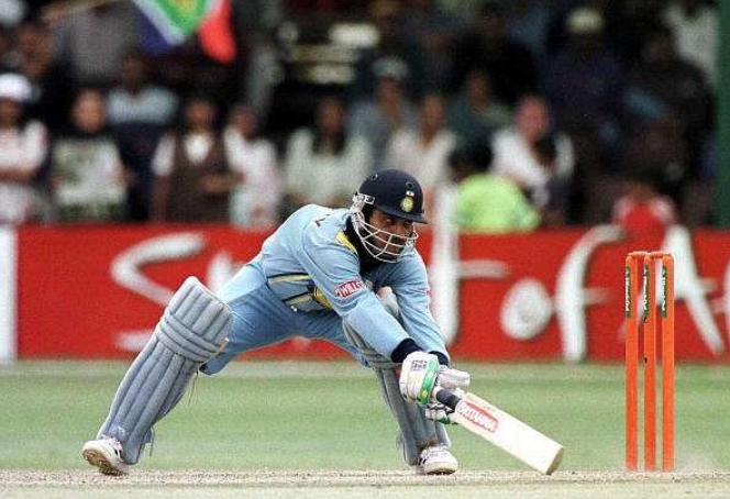 Ganguly scored 141* vs South Africa, Nairobi, ICC KnockOut 2000