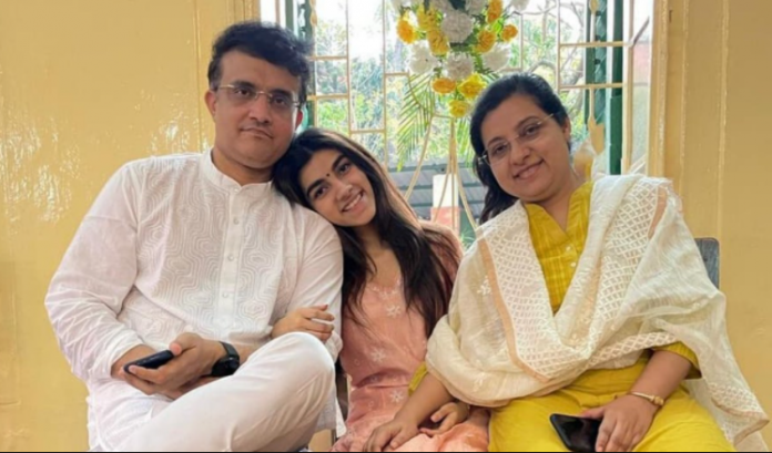 Sourav Ganguly Family