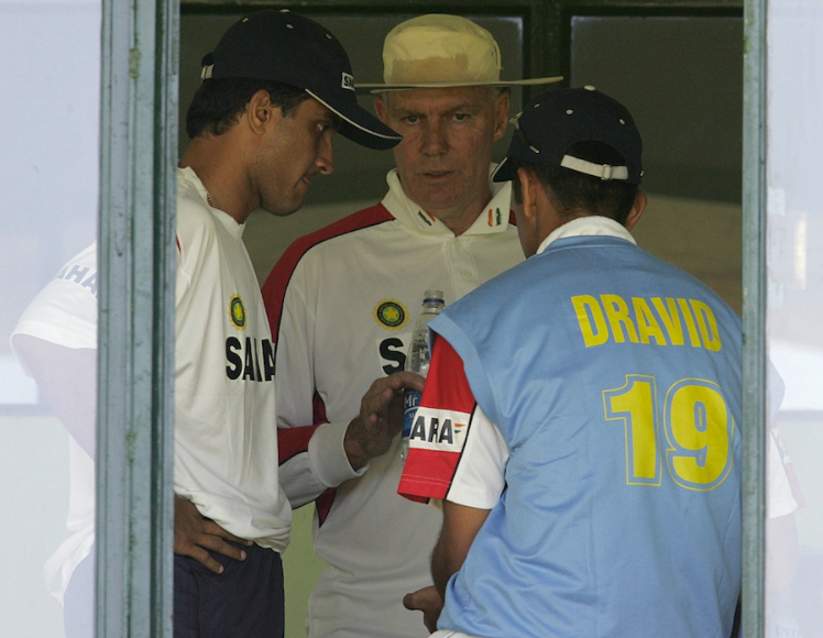 Greg Chappell conflict with Ganguly