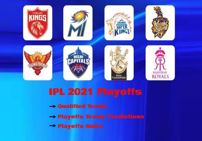 IPL 2021 Playoffs teams
