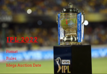 IPL 2022 format and mega auction date