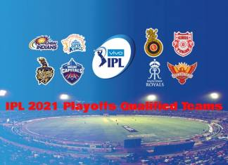 IPL 2021 qualified teams