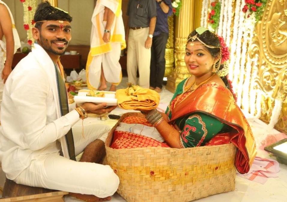 KS Bharat Marriage date
