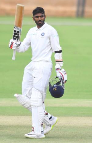 KS Bharat triple century