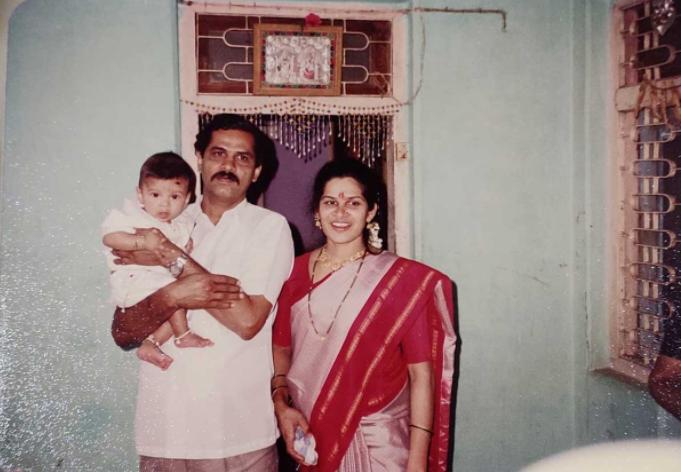 Shardul Thakur Childhood photo