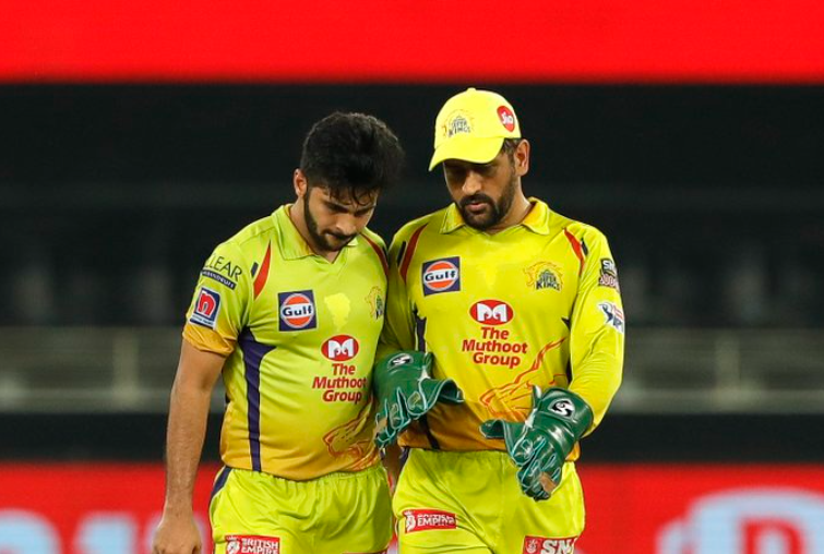 Shardul Thakur plays for CSK in IPL 2021