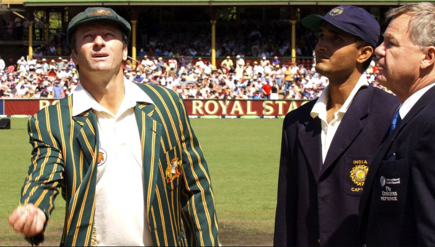 Ganguly reached late for toss in 2001 which made Steve Waugh to lose his temper