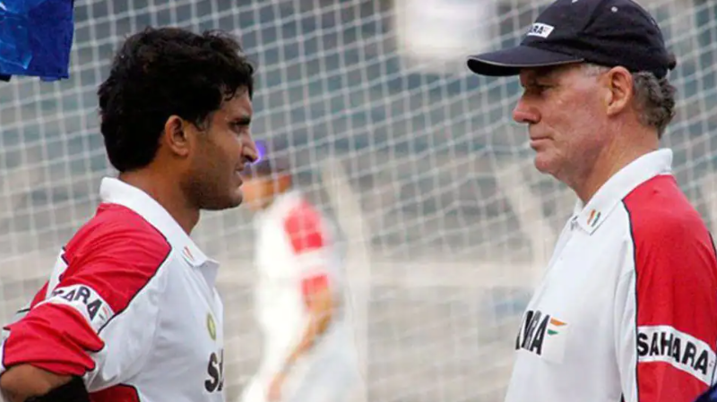 Greg Chappell - Ganguly