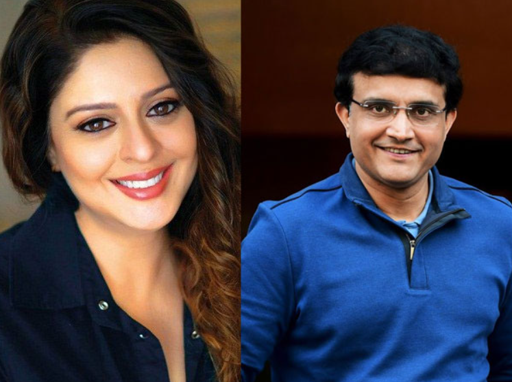 Ganguly rumoured to have affair with Nagma