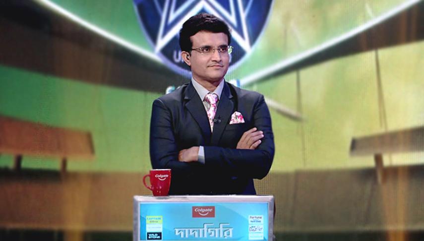 Sourav Ganguly hosts dadagiri TV show