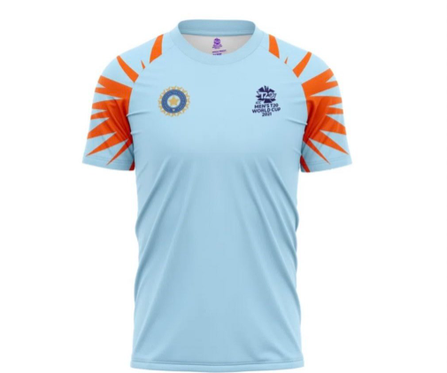 Official Fan Merchandise Jersey of India for this T20 World Cup 2021