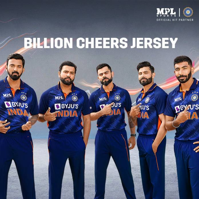 Indian Team Jersey Kit For T20 WC