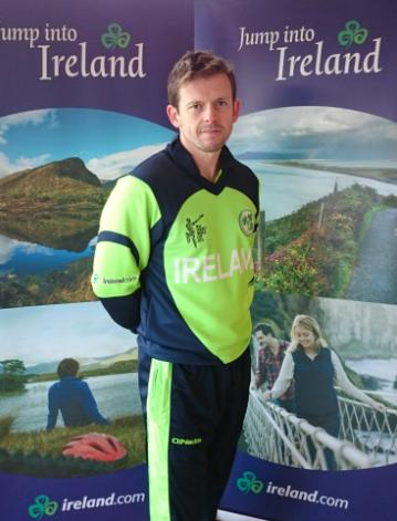 Ireland T20 WC jersey