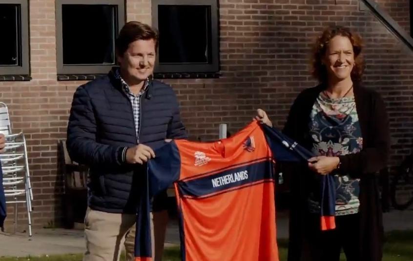 Netherland T20 WC 2021 jersey