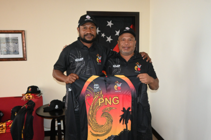 Papua New Guinea's T20 World Cup jersey