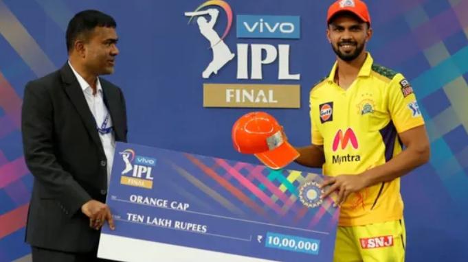 Ruturaj Gaikwad bags the IPL 2021 Orange Cap