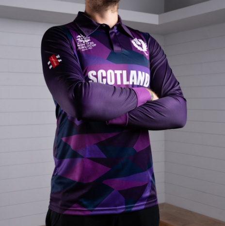 Scotland jersey for T20 World Cup 2021