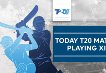 Today T20 Match Playing 11