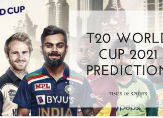 T20 World Cup 2021 Prediction